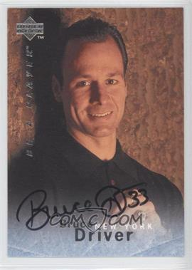 1995-96 Upper Deck Be a Player Autographs [Autographed] #S147 - Bruce Driver