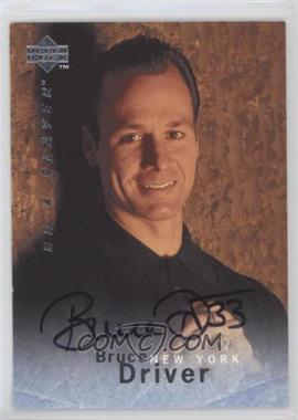 1995-96 Upper Deck Be a Player Autographs [Autographed] #S147 - Bruce Driver