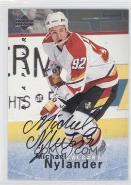 1995-96 Upper Deck Be a Player Autographs [Autographed] #S148 - Michael Nylander