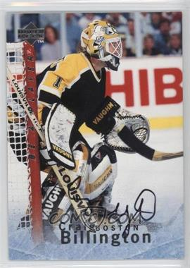 1995-96 Upper Deck Be a Player Autographs [Autographed] #S151 - Craig Billington