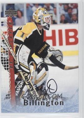 1995-96 Upper Deck Be a Player Autographs [Autographed] #S151 - Craig Billington