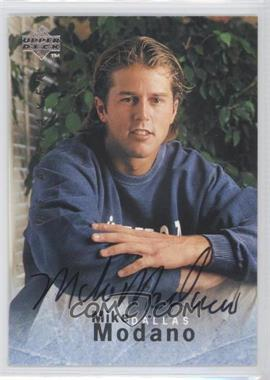 1995-96 Upper Deck Be a Player Autographs [Autographed] #S153 - Mike Modano