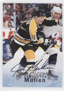 1995-96 Upper Deck Be a Player Autographs [Autographed] #S154 - Joe Mullen