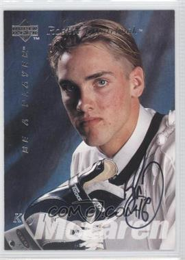 1995-96 Upper Deck Be a Player Autographs [Autographed] #S173 - Kyle McLaren