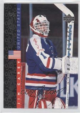 1995-96 Upper Deck Be a Player Autographs [Autographed] #S189 - Jim Campbell