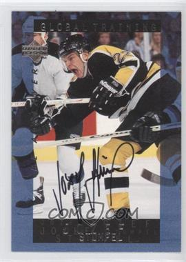 1995-96 Upper Deck Be a Player Autographs [Autographed] #S208 - Jozef Stumpel