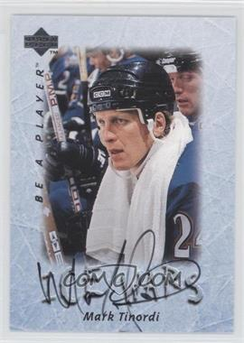 1995-96 Upper Deck Be a Player Autographs [Autographed] #S220 - Mark Tinordi
