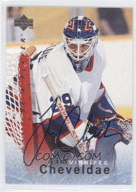 1995-96 Upper Deck Be a Player Autographs [Autographed] #S76 - Tim Cheveldae