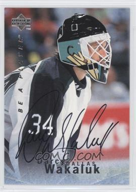1995-96 Upper Deck Be a Player Autographs [Autographed] #S90 - Darcy Wakaluk