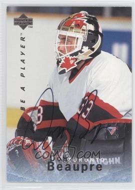 1995-96 Upper Deck Be a Player Autographs [Autographed] #S96 - Don Beaupre