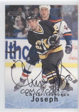 1995-96 Upper Deck Be a Player Autographs [Autographed] #S98 - Chris Joseph