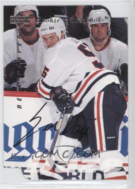 1995-96 Upper Deck Be a Player Die-Cut Autographs [Autographed] #S170 - Eric Daze