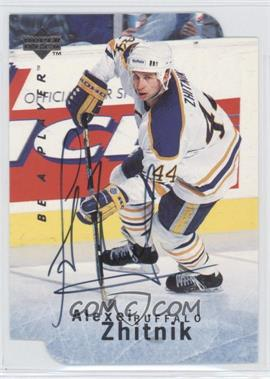 1995-96 Upper Deck Be a Player Die-Cut Autographs [Autographed] #S28 - Alexei Zhitnik