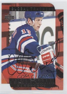 1995-96 Upper Deck Be a Player Die-Cut Autographs [Autographed] #SS209 - Sergei Nemchinov