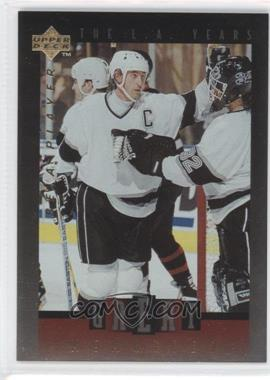 1995-96 Upper Deck Be a Player Great Memories #GM03 - Wayne Gretzky