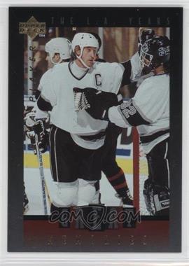 1995-96 Upper Deck Be a Player Great Memories #GM03 - Wayne Gretzky