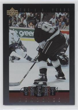 1995-96 Upper Deck Be a Player Great Memories #GM05 - Wayne Gretzky