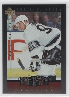1995-96 Upper Deck Be a Player Great Memories #GM06 - Wayne Gretzky