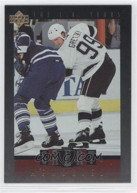 1995-96 Upper Deck Be a Player Great Memories #GM08 - Wayne Gretzky