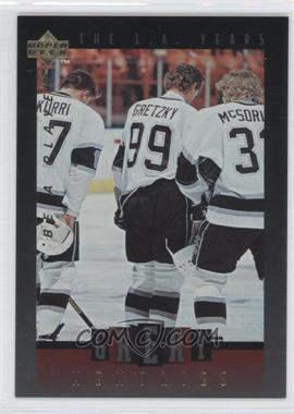 1995-96 Upper Deck Be a Player Great Memories #GM09 - Wayne Gretzky
