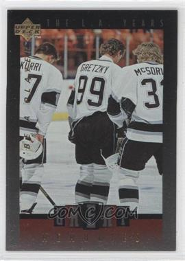 1995-96 Upper Deck Be a Player Great Memories #GM09 - Wayne Gretzky