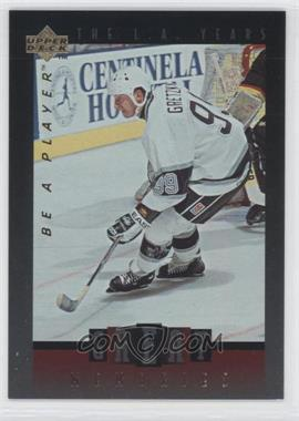 1995-96 Upper Deck Be a Player Great Memories #GM1 - Wayne Gretzky