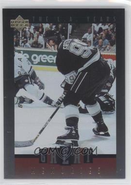 1995-96 Upper Deck Be a Player Great Memories #GM5 - Wayne Gretzky