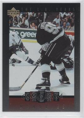 1995-96 Upper Deck Be a Player Great Memories #GM5 - Wayne Gretzky