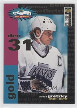 1995-96 Upper Deck Collector's Choice - Crash the Game Redemption - Gold #C3.2 - Wayne Gretzky (Dec. 31)
