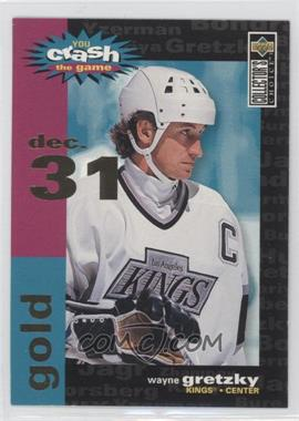 1995-96 Upper Deck Collector's Choice Crash the Game Redemption Gold #C3.2 - Wayne Gretzky (Dec. 31)