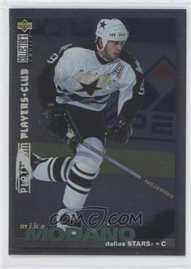 1995-96 Upper Deck Collector's Choice Platinum Player's Club #238 - Mike Modano