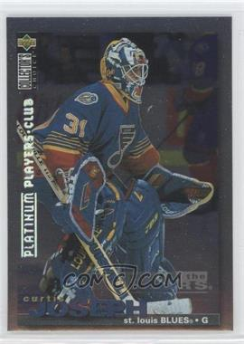 1995-96 Upper Deck Collector's Choice Platinum Player's Club #291 - Curtis Joseph