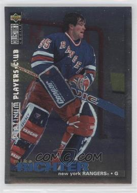 1995-96 Upper Deck Collector's Choice Platinum Player's Club #306 - Mike Richter