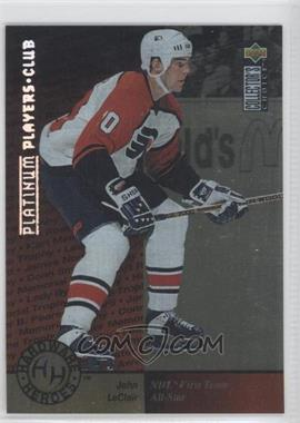 1995-96 Upper Deck Collector's Choice Platinum Player's Club #376 - John LeClair
