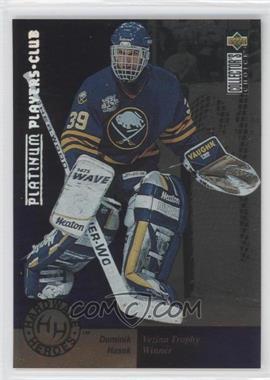 1995-96 Upper Deck Collector's Choice Platinum Player's Club #394 - Dominik Hasek