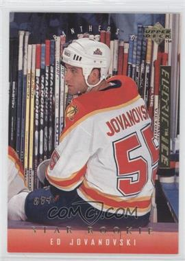 1995-96 Upper Deck Gold Electric Ice #501 - Ed Jovanovski