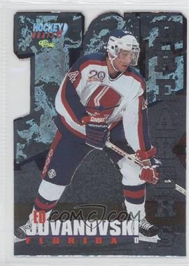 1995 Classic Draft Ice Breakers Die Cuts #19 - Ed Jovanovski /495