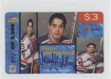 1995 Signature Rookies Auto-Phonex Calling Card $3 Signatures [Autographed] #18 - Martin Hohenberger /3000