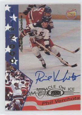 1995 Signature Rookies Miracle on Ice 1980 Signatures [Autographed] #38 - Phil Verchota /2000