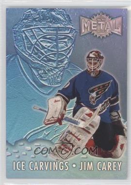 1996-97 Fleer Metal Ice Carvings Parallel #3 - Jim Carey