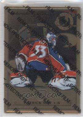1996-97 Leaf Preferred Steel Gold #36 - Patrick Roy