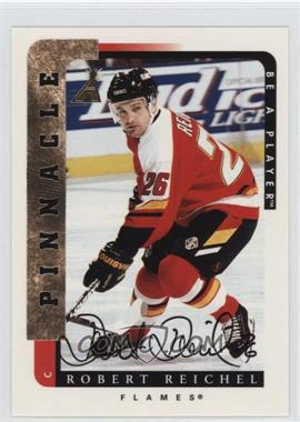 1996-97 Pinnacle Be A Player - [Base] - Autograph [Autographed] #81 - Robert Reichel