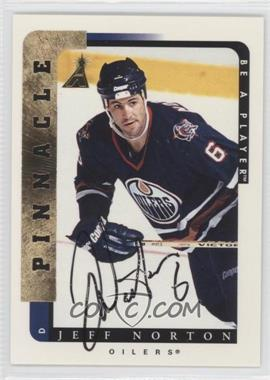 1996-97 Pinnacle Be A Player Autograph [Autographed] #187 - Jeff Norton