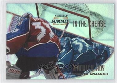 1996-97 Pinnacle Summit in the Crease Premium Stock #1 - Patrick Roy /600