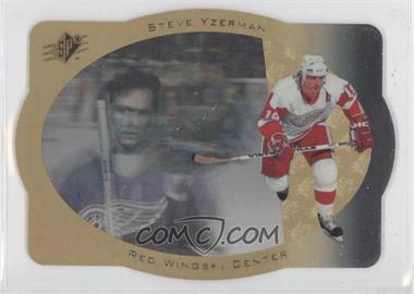 1996-97 SPx - [Base] - Gold #14 - Steve Yzerman