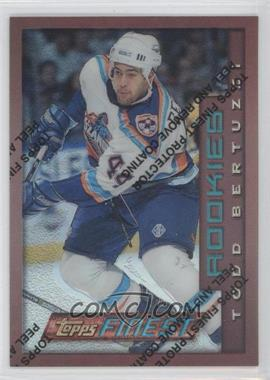 1996-97 Topps Finest Refractor #146 - Todd Bertuzzi