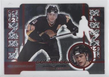 1997-98 Donruss - Line 2 Line - Promo Die-Cut #11 - Pavel Bure