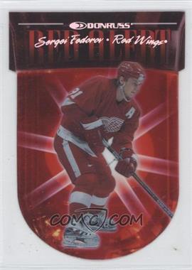 1997-98 Donruss - Red Alert #3 - Sergei Fedorov /5000