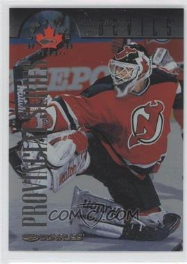 1997-98 Donruss Canadian Ice - [Base] - Provincial Series Player's Club #42 - Martin Brodeur