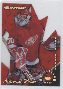 1997-98 Donruss Canadian Ice - National Pride Die-Cut #6 - Chris Osgood /1997